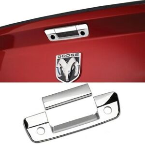02-08 Dodge Ram 1500 Chrome Tailgate Handle Lever Cover Trim Center Piece Only