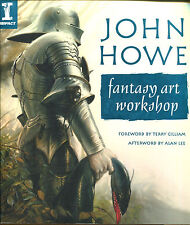John Howe Fantasy Art Workshop-UK First Edition-2004