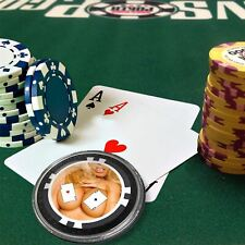 Card Guard - Nice Pair ~ Boobs Protector Holdem Poker Chip / Card Cover