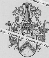München : Wappen des Ritter Walter von Nießen - um 1915         Z 30-6