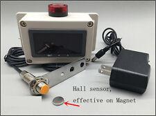 Hall sensor Digital display speed measuring motor overspeed alarm speed sensor