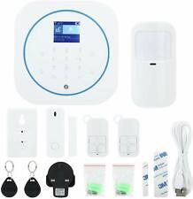 Wifi GSM Alarm System, Wireless Home Burglar Alarm System Remote Control Autodia