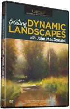 NEW John MacDonald: Creating Dynamic Landscapes- Art Instruction DVD