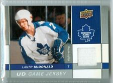 Lanny McDonald 2009-10 Upper Deck '09 UD Series 1 NM+ Game Jersey Card #GJ-LM