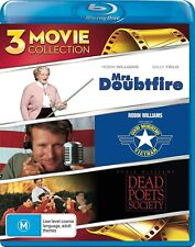 MRS DOUBTFIRE GOOD MORNING VIETNAM DEAD POETS SOCIETY  (Region Free) Blu-ray