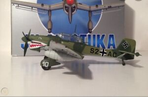 "Franklin Mint Armour 1:48 JU87 Stuka B ""Shark Mouth"" B11B266"