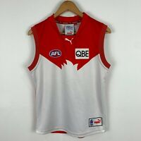 Puma Sydney Swans AFL Jersey Youth Size 16 Sleeveless