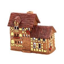 cerámica casa de velas Casita para velas Portavelas Casa De Madera Pub 8cm 40554