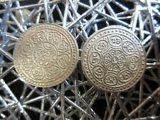 """2 - TIBET """"Ga-Den"""" TANGKA VF-XF - SACRED SILVER Coins FROM THE ROOF OF WORLD"""