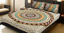 Handmade Bedspread Queen size 100% Cotton with two pillow cover