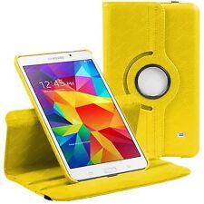 """Jaune 360 étui pour Samsung Galaxy Tab 4 8.0 """"T330 rotation stand de couverture"""