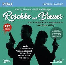 Reschke und Breuer * CD 3-teilige Krimi-Hörspielreihe Richard Hey MP3-CD Pidax
