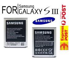 Genuine Samsung Galaxy S3 SIII Battery GT i9300/T GT i9305/T 2100 mAh EB-L1G6LLU
