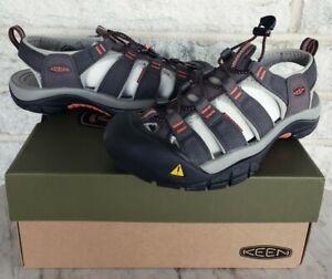 KEEN Mens Newport H2 Waterproof Hiking Sandals Size 8 Magnet Orange 1016287