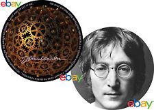 JOHN LENNON Watching the Wheels / Imagine 12 inch TURNTABLE platter MAT  v v