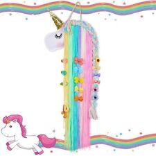 Unicorn Hair Clip Holder Headband Bow Hanger Organizer Girl Accessory Room Decor