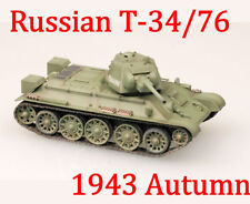 Easy Model 1/72 Russian Army T-34/76 Medium Tank 1943 Autumn #36267