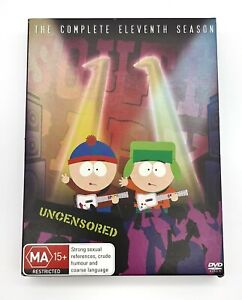 South Park Complete Season 11 DVD Uncensored  Pre Owned **Free Shipping**