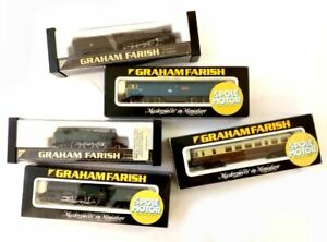 Graham Farish N Scale Locos British Made - Please Choose From Drop-Down Listing