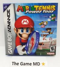 Mario Tennis: Power Tour (Nintendo Game Boy Advance, 2005) In Box *NTSC