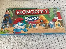 Monopoly: The Smurfs Collectors Edition Board Game Pieces Are Still Sealed HTF