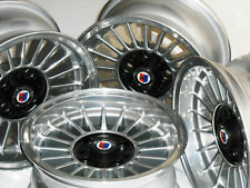 ⚠️ Alpina 13 inch OPEN LUG 6J+6,5Jx13 bbs CHROME rs BMW E21 E6 2002 4x100