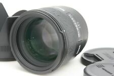 [ Exc++++ ]  Sigma EX 85mm f/1.4 HSM DG EX Lens w/ Hood  For Canon from Japan