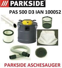 PAS 500 D3  IAN 100052 PARKSIDE Aschesauger Filter Zubehör Kaminsauger Schlauch