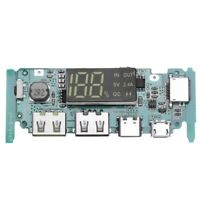 Boost 5V High Pass Qc3.0 Fast Charging Press Board With Digital Power Displ F5X9
