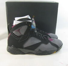 Air Jordan Retro 7 Basketball Shoes 304775 034 Black/Bordeaux Size 13