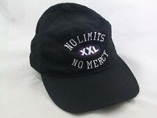 No Limits XXL No Mercy Reebok Hat Vintage 90s Black Snapback Baseball Cap