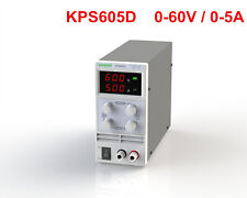 Mini Adjustable Switch DC Power Supply KPS605D Output 0-60V 0-5A AC110-220V