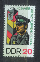 ALEMANIA/RDA EAST GERMANY 1986 MNH SC.2571 Border Guards