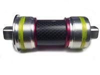 OMNI Racer Square Taper Cromo Steel Bottom Bracket JIS 2°:  68x103mm- ENGLISH