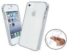 Cover TPU Bumper Custodia MORBIDA Sottile Silicone CLEAR per iPhone 4 4S 4G