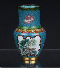 China 20. Jh. - A Chinese Cloisonne Enamel Baluster Vase - Vaso Cinese Chinois