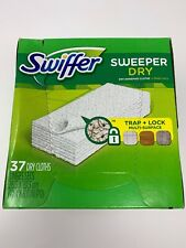 Procter & Gamble Swiffer Sweeper Dry Cloth Refill 37Shts/BX White 82822