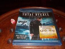 Total Recall - Atto Di Forza Colin Farrell Box 2 Blu-Ray ..... Nuovo