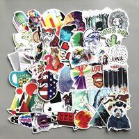 US SELLER- 100 vinyl stickers car snowboard laptop sticker bomb pack