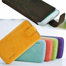 Huawei P8 Lite ( Smart) Funda de Piel Exclusiva Cubierta Protectora Estuche
