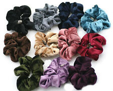 1pc Nice Scrunchies Ponytail Holder Velvet Hair Accessories Available 14colors