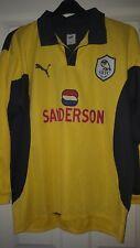 Mens Football Shirt - Sheffield Wednesday - Goalkeeper 1999 Puma - Size M - RARE