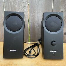 Bose Companion 2 Series I Computer Speakers (Black) w/ Adapter + RCA Cable