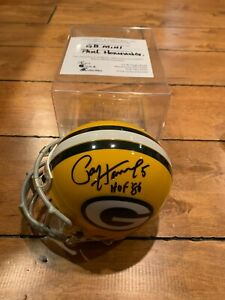 Paul Hornung Signed Auto Green Bay Packers Mini Helmet HOF 86 FIRST WORLD CHAMPS
