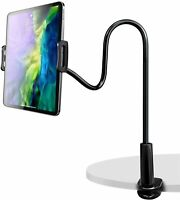 "Gooseneck Tablet/Phone Holder Tablet Mount Holder Stand for 4.7-10.5"" Devices"
