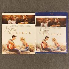 I Still Believe (Blu Ray, DVD, Digital, 2020) w/ Slipcover