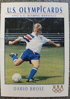 US Olymp Cards Dario Brose OS 1992 Nr. 65 Trading Card