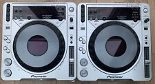 PIONEER CDJ 800 MK2 CDJ800-MK2 CDJ800MK2 Pair DJ Decks Turntables Silver Players