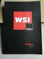 WSI Collectables, 2012 Brochure, 110 pages, used but good condition.