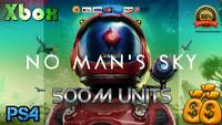 | XBOX | PS4 | PC | No Mans Sky Cash (Units) 500 Million + 5 Free Void Eggs